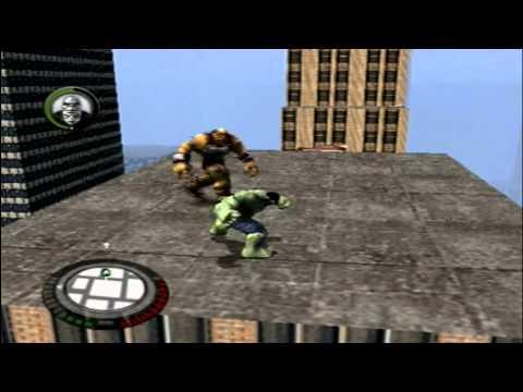 Gameplay Retro do jogo Hulk