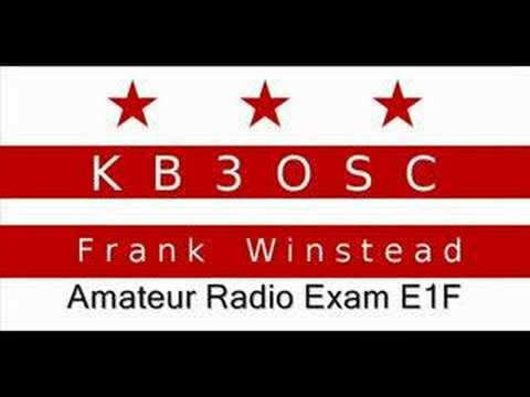 Amateur Radio Extra Exam Prep E1F