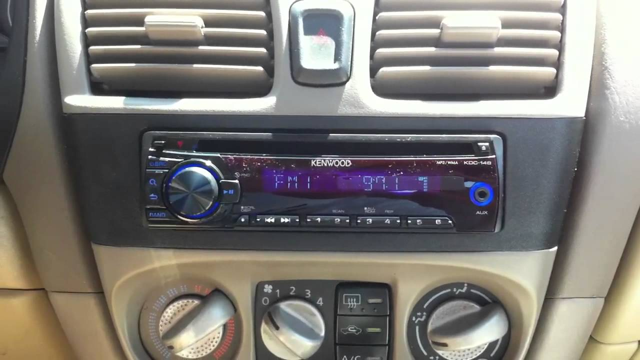 2001 Nissan Sentra Kenwood Kdc 148 Cd Aux Ipod Radio