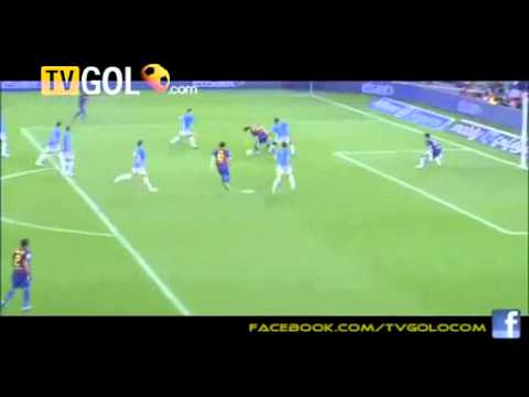 Lionel Messi Second Goal 17.09.2011 ~ Fc Barcelona 5-0 Osasuna