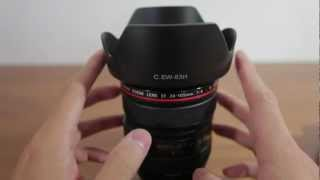 Cheap Third Party Lens Hood vs Original Lens Hood (Fotodiox)