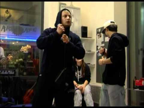 Gangsta rap from Napoli