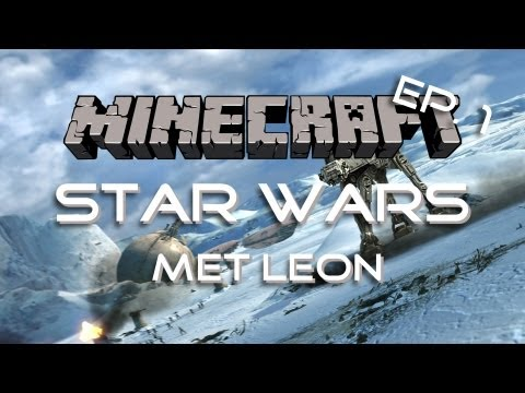 Minecraft Custom Map - Star Wars Adventure Map - Deel 1
