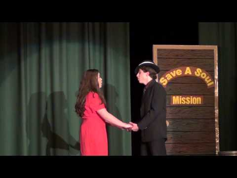 "Guys and Dolls - I've Never Been in Love Before"" Monsignor Slade Catholic School"