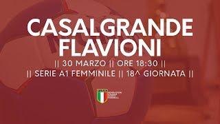 Serie A1F [18^]: Casalgrande - Flavioni 31-22