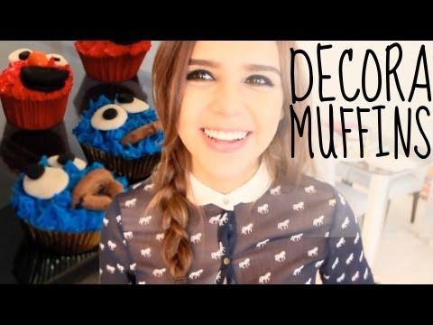 Muffins de Nutella ♥(FÁCIL) COME GALLETAS/ ELMO - Yuya