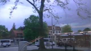 tornado @ vierlingsbeek op 10-5-2012 DICHTBIJ!!!! part 1/2