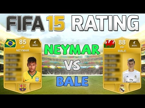 FIFA 15 Rating - NEYMAR vs BALE - Fifa 15 Player Rating Predictions