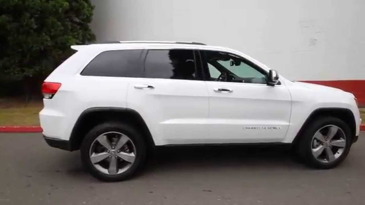 Jeep Grand Cherokee Limited White 2015 images