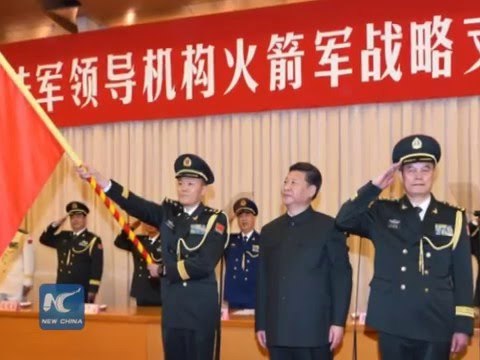 China creates Rocket Force, nuclear strategy to remain consistent