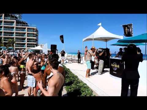 Pool Party con LilJon en Hard Rock Hotel Cancun