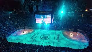 Another dope pregame intro - Vegas Golden Knights host San Jose Sharks in game 4