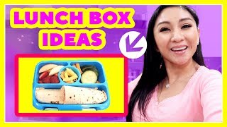 KIDS' SCHOOL LUNCH BOX IDEAS!