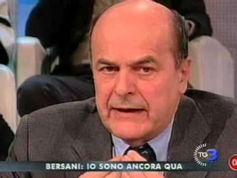 Bersani a Berlusconi: ti conosco mascherina