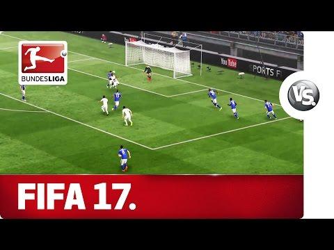 Schalke 04 vs. Borussia Mönchengladbach - FIFA 17 Prediction with EA Sports