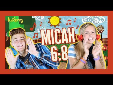 Micah 6:8 | Preschool Worship Song