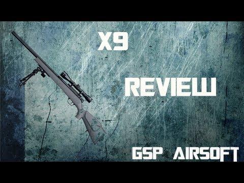 TS SX9 DB Sniper Softair Review [GsP Airsoft] GERMAN