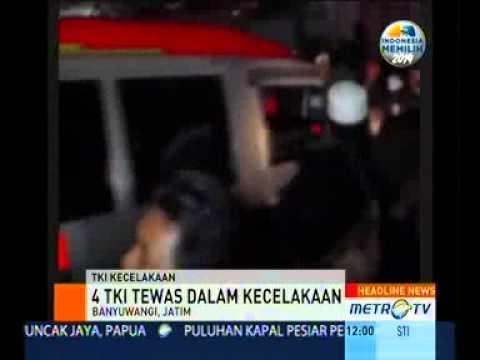 Empat TKI Tewas di Sarawak Tiba di Banyuwangi