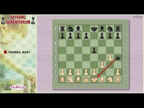 Tembel Matı - Satranç Öğreniyorum