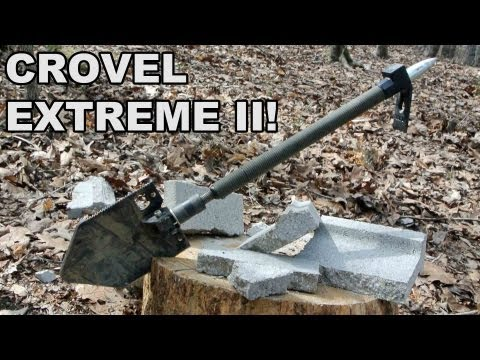 Crovel Extreme II! A Multi-Capable Multitool from Gear Up, Inc.
