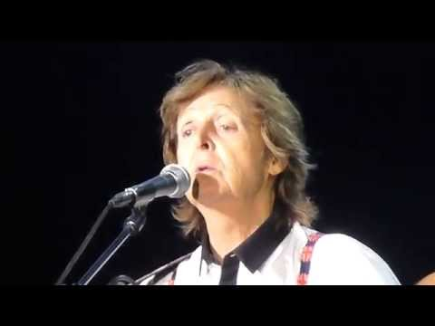 Paul McCartney YESTERDAY Live @ Farewell to Candlestick Park San Francisco 8/14/2014
