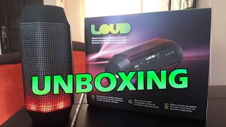 Unboxing & Review | Parlante Bluetooth | LOUD K20 | 2017