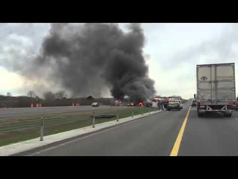 Patrol: Suicide 'possibility' in fiery I-70 East crash / WORLD NEWS