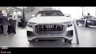 Audi Royal Oak Launch Event: 2019 A6, A7, A8, Q8!