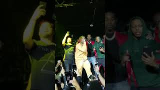 Tekashi 6ix9ine performs Kooda and stage dives in Houston, TX at Club Set 02/23/18