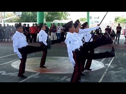 Escolta del Instituto Tecnológico de Cancún. 1er Lugar V Copa Kekenes Cancún 2013. Rutina 2,