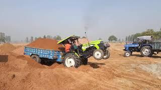 preet tractor जादा लोड मे  फस gya