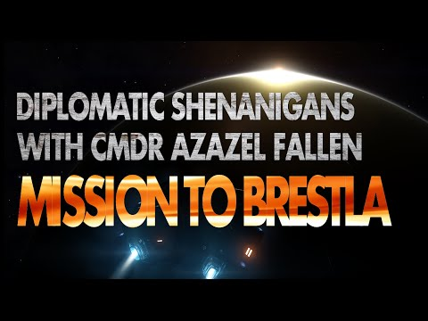 Elite Dangerous:  Diplomatic Mission to Brestla