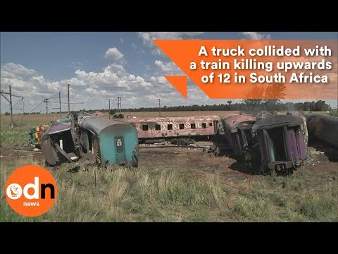 Train collision kills upwards of 12 in South Africa