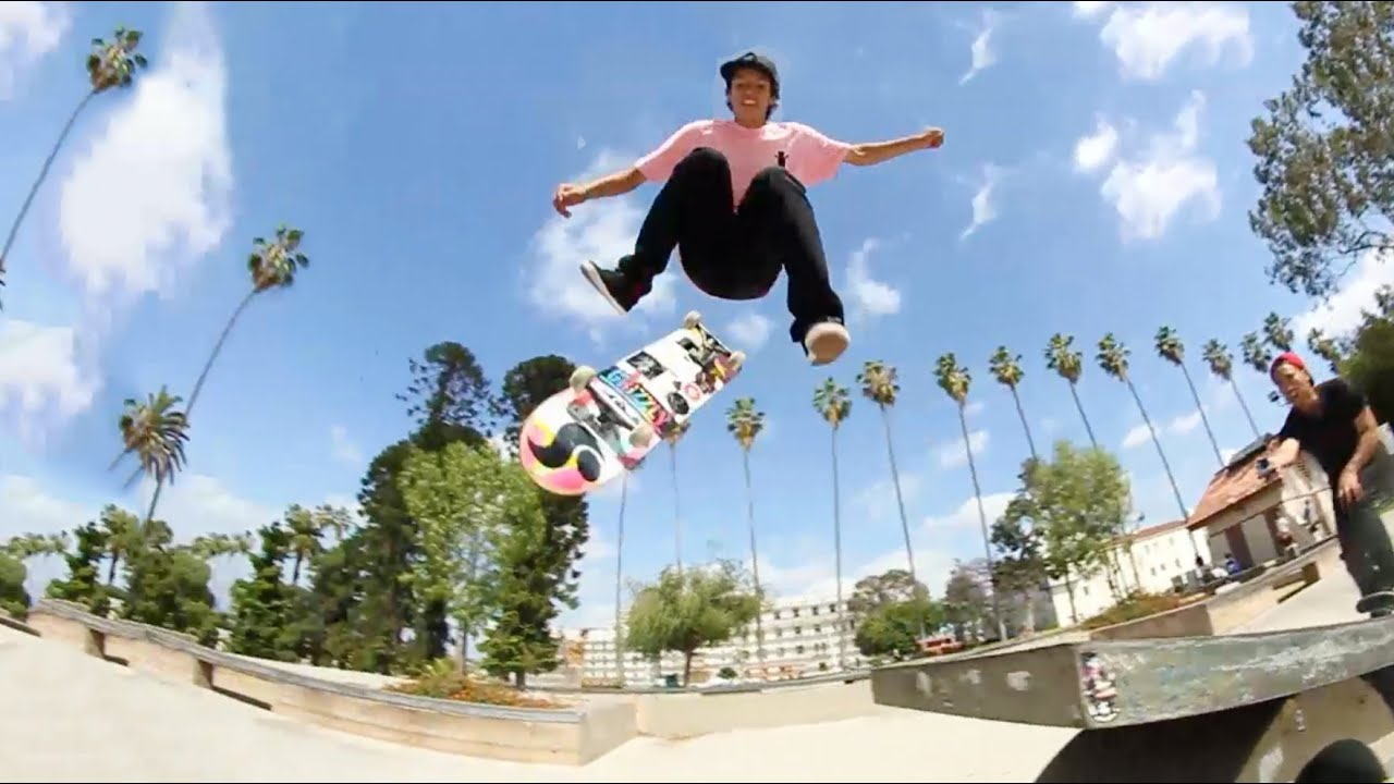 Mind-Melting Skateboarding with Chris Chann - YouTube