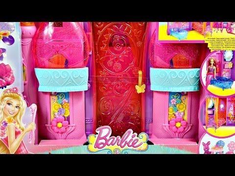 Barbie Secret Room / Bajkowy Zamek Księżniczki - Barbie i Tajemnicze Drzwi - BLP41