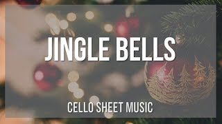 EASY Cello Sheet Music: How to play Jingle Bells by James Lord Pierpont