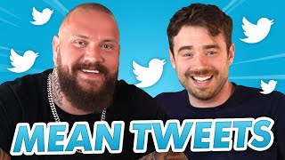 TRUE GEORDIE AND LAURENCE READ MEAN TWEETS