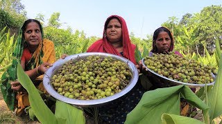 Most REAR Vegetables Dumur Cooking | Have U Ever Eaten Dumur / Common Fig Recipe | Charity Food