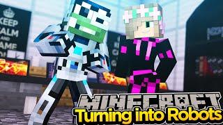 Minecraft Adventure - TURNING INTO ROBOTS w/ LittleKelly