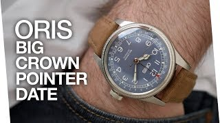 This watch has really grown on me! - Oris Big Crown Pointer Date