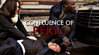 The Blacklist - Red/Lizzie/Dembe - A confluence of peril (2x19)