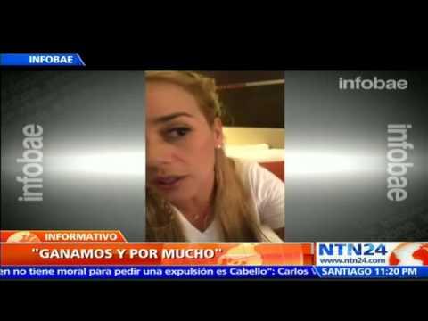 VIDEO: GANAMOS Y GANAMOS POR MUCHÍSIMO: EL ESPERANZADOR MENSAJE DE LILIAN TINTORI SOBRE RESULTADOS DEL 6D