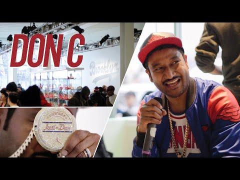 Don C Talks Jordan x Just Don Collab at 166 Flatbush - Brooklyn, NY