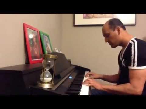 Lag Jaa Gale  tera Mera Pyar Amar (piano Cover) video