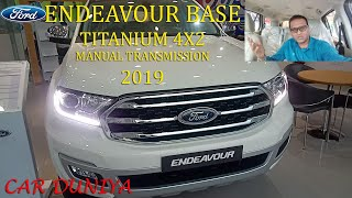 Ford Endeavour Base Titanium Manual Transmission 2019