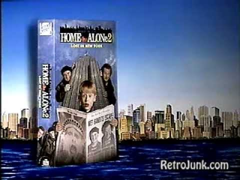 Home Alone  Lost In New York Vhs Commercial