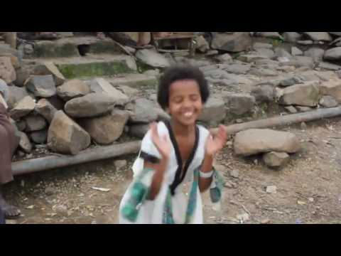 Amazing Ethiopian Traditional Dance by Two Ethiopian Kids
