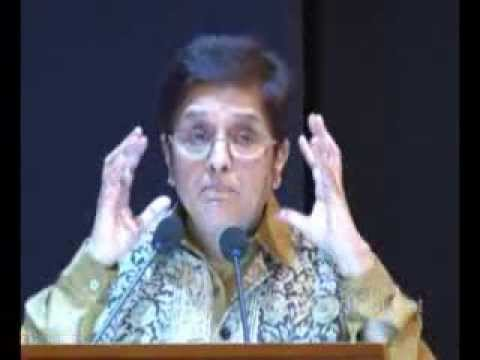 Kiran Bedi's speech on 'Women Empowerment' at Nirma University in Ahmedabad Gujarat
