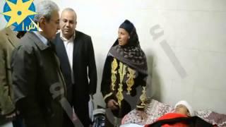 """محافظ المنيا يتفقد """"المستشفى الجامعي""""ويوجه بتوفير الرعاية الصحية"""