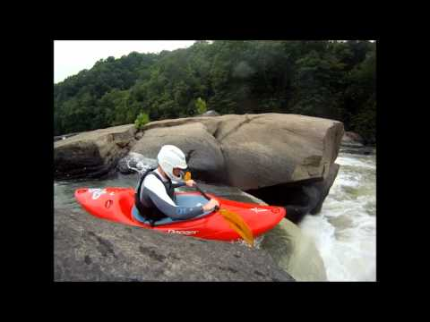 Kayaking Tygart Valley Falls 7/21/12